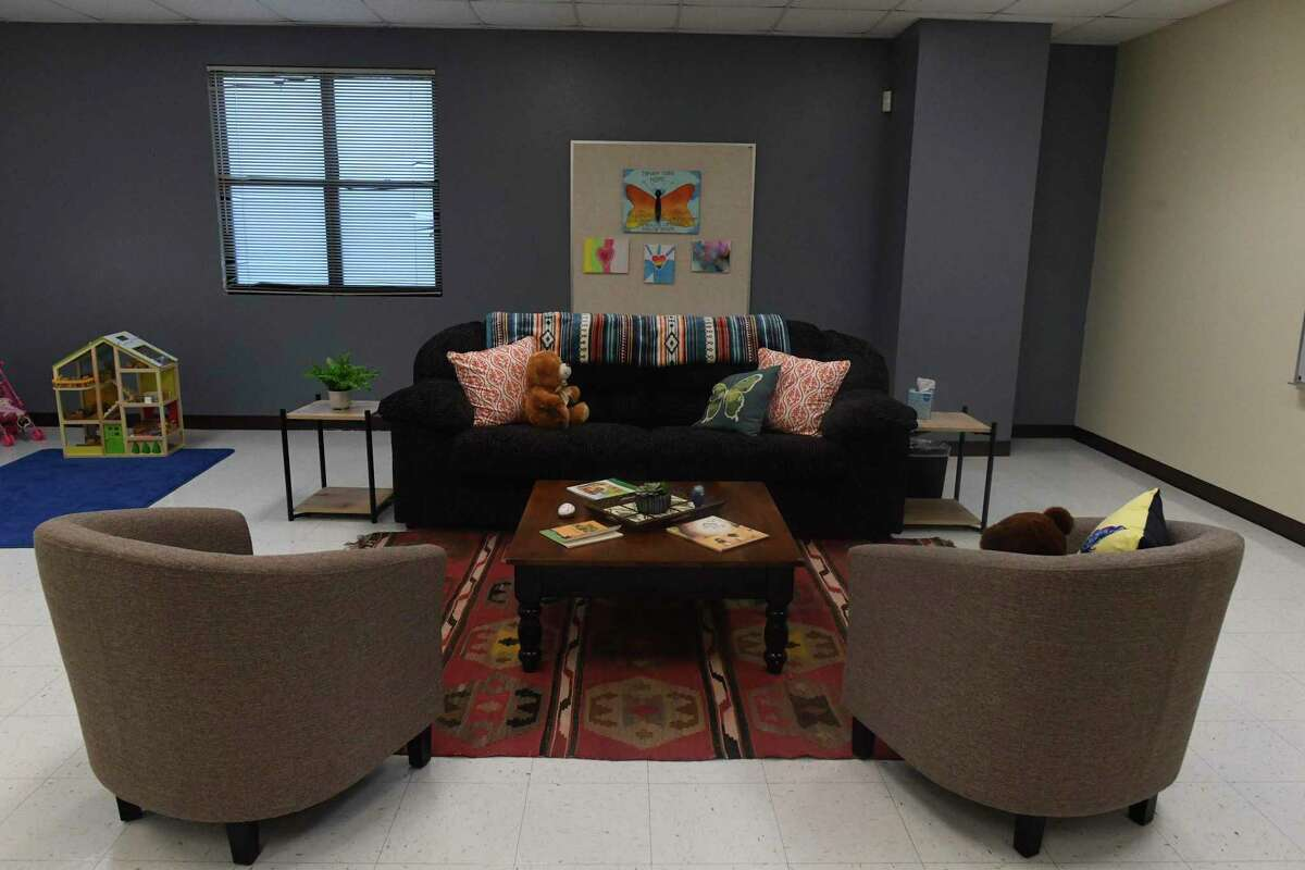 The Children's Bereavement Center of South Texas occupies a room at the South San ISD CARE Zone in the annex building of Athens Elementary School. The nonprofit provides grief support programs for children and teens including peer group support, individual and family counseling.