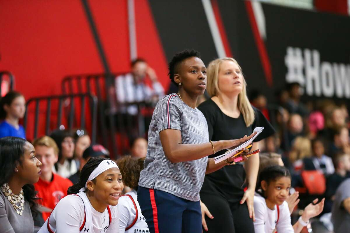 Former Northeastern assistant coach Whitney Edwards, who was hired Monday as the women's basketball head coach at the College of St. Rose. (Jim Pierce / Special to the Times Union)