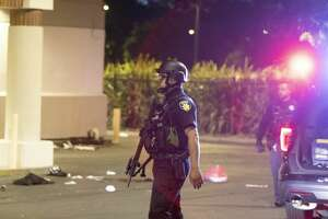 Police officers shot a man while responding to reports of a burglary at Walgreens in Vallejo, Calif., early Tuesday, June 2, 2020. Vallejo Police Chief Shawny Williams said an officer shot and killed Sean Monterossa, 22, of San Francisco, who was unarmed but possessed a hammer.