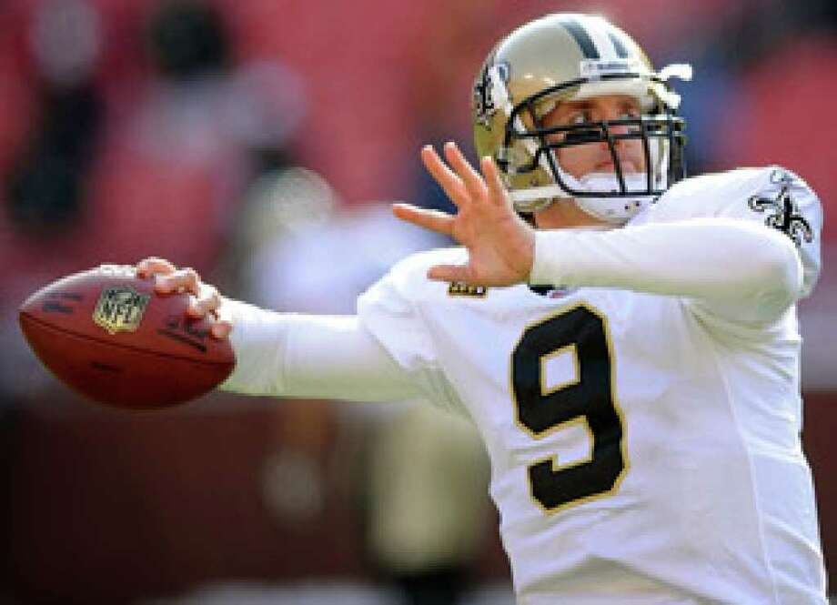 New Orleans quarterback Drew Brees passed for five touchdowns in the Saints' last meeting with the Cowboys.