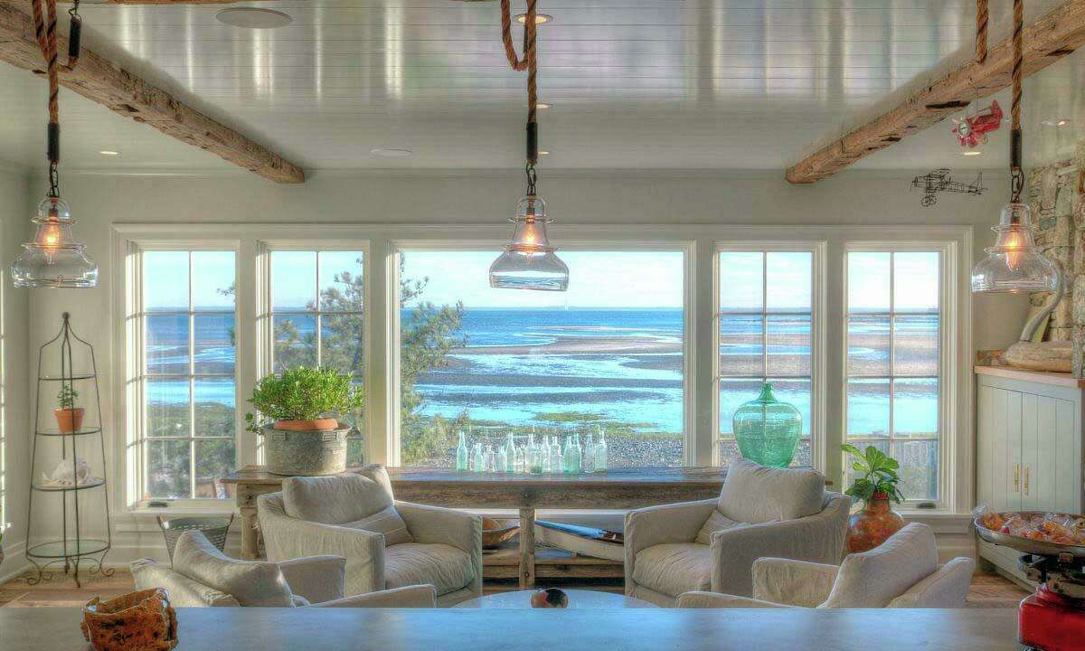 Every room in this house enjoys a water view; some of Compo Mill Cove/Long Island Souns, and some of Old Mill Pond.