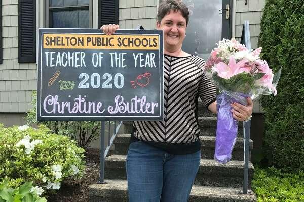 Elizabeth Shelton School teacher Christine Butler was named the 2020 Shelton Teacher of the Year.