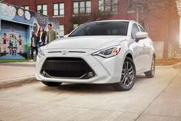 The 2020 Toyota Yaris offers a 32 mpg city, 40 mpg highway fuel economy.