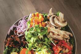 The Ranch Hand Salad (recipe in column): A colorful salad, beautiful and healthful.