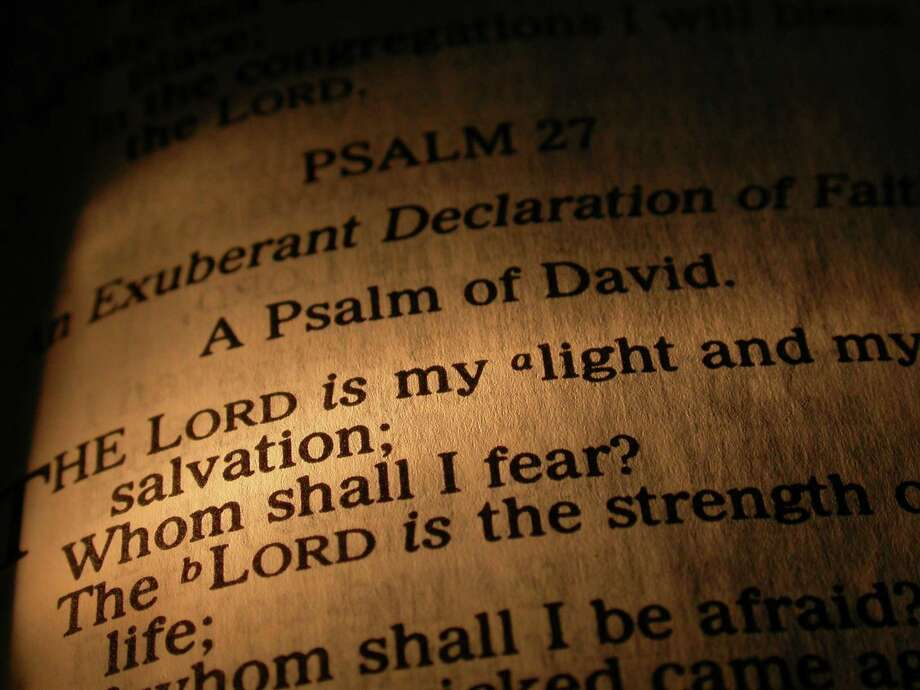 Psalm 27 from the Bible Photo: Dreamstime / (c) Christopherh | Dreamstime.com