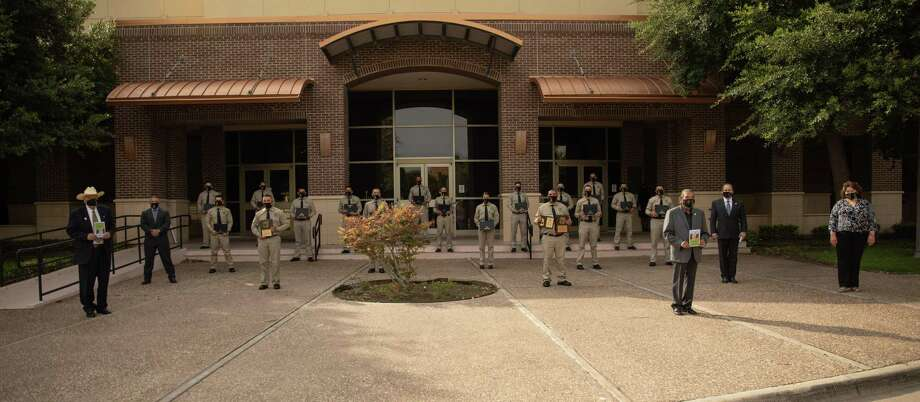 Students from the Laredo College Regional Law Enforcement Academy recorded a perfect passing rate for the 12th straight year. Photo: Courtesy Of Laredo College