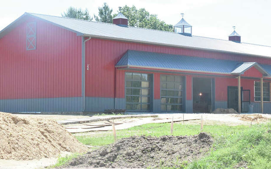 Expansion of the original plans for Waters Edge Winery and Bistro has delayed its spring opening a few months. Photo: Samantha McDaniel-Ogletree | Journal-Courier
