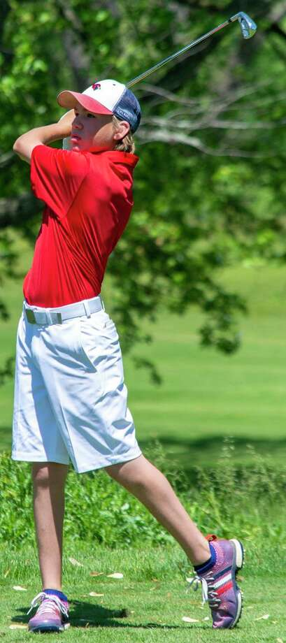 Big Rapids golfer Luke Welch and others are anxious to be working on their game this summer. (Pioneer file photo)