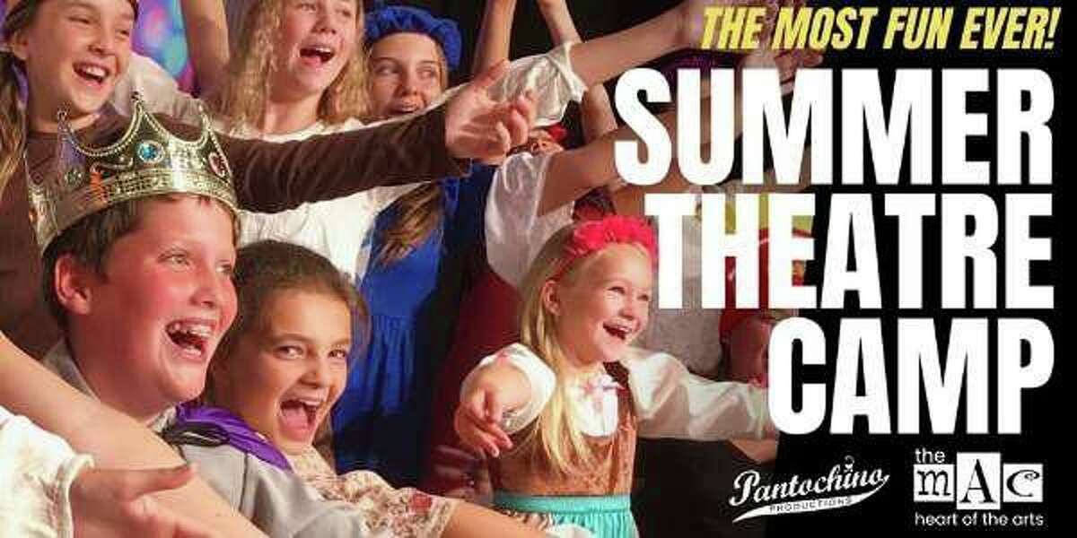 Pantochino's Summer Theatre Camp presented by the Milford Arts Council at the MAC in Downtown Milford kicks off July 6.