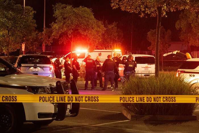 Police officers shot a man while responding to reports of a burglary at Walgreens in Vallejo, Calif., early Tuesday, June 2, 2020.