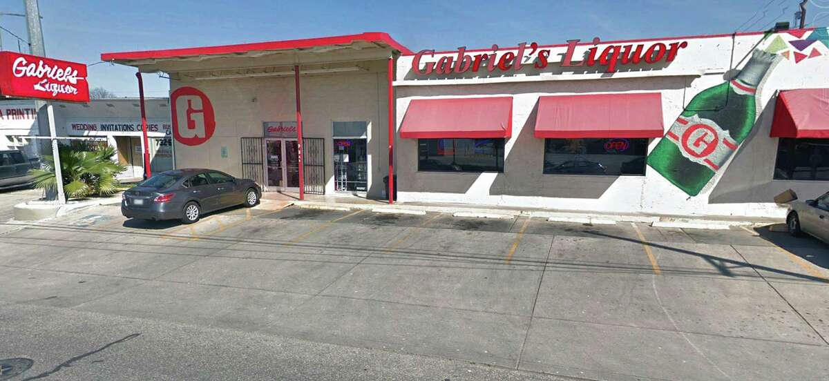 The Gabriel's Liquor store at 837 W. Hildebrand. A bankruptcy judge on Monday sided with the Texas Alcoholic Beverage Commission on whether Gabriel Investment Group Inc. could sell its shares to a public company.