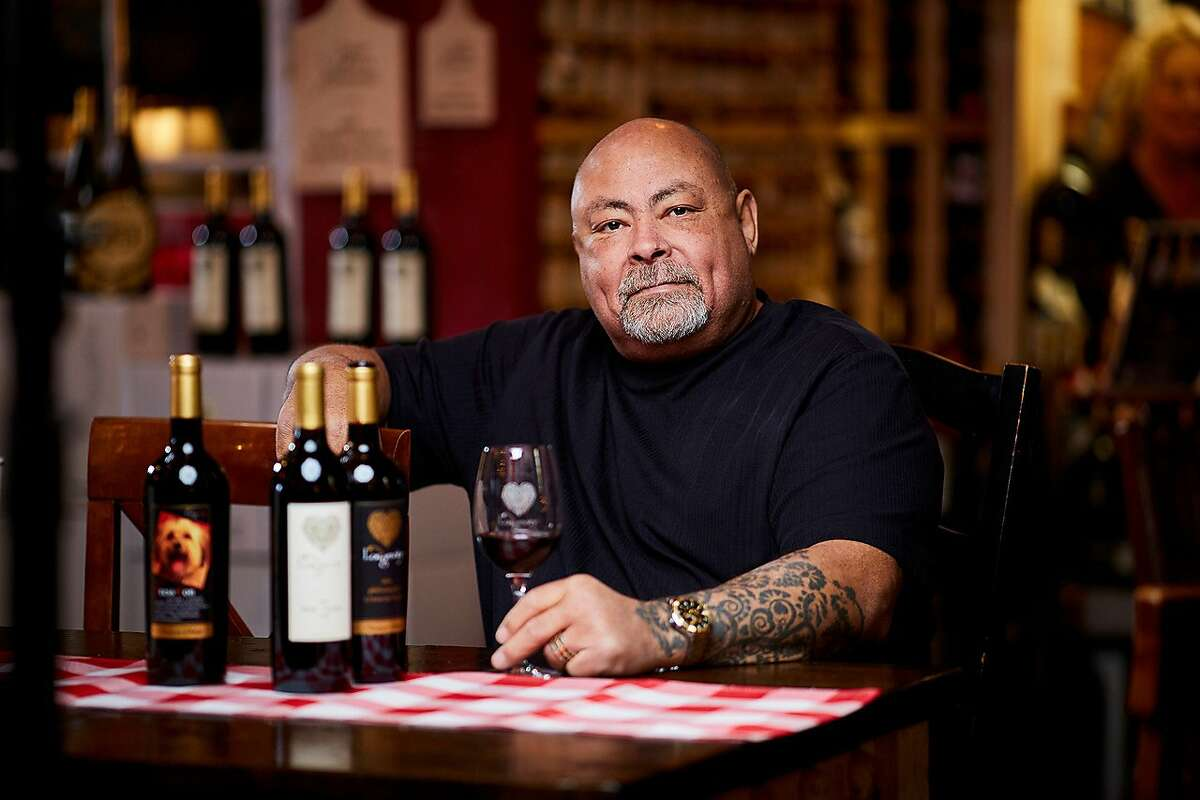 Phil Long, owner of Longevity Wines, is a member of the Association of African American Vintners.
