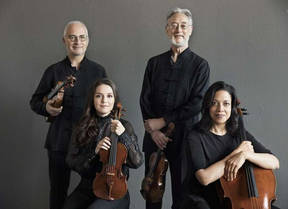"The Juilliard String Quartet, ""the most important American quartet in history"" (The Boston Globe), opens Live From Music Mountain, a weekly program of conversation and music, starting June 7 at musicmountain.org, Youtube and Facebook Photo: Juilliard String Quartet / Contributed Photo"