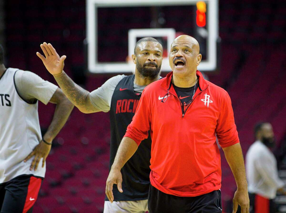 John Lucas has been with the Rockets since 2016, when he rejoined his old team after Mike D'Antoni arrived.