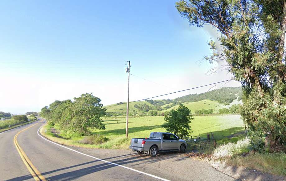The intersection of Lyon and Soda Springs Road in Fairfield, where the crash occurred. Photo: Google Maps