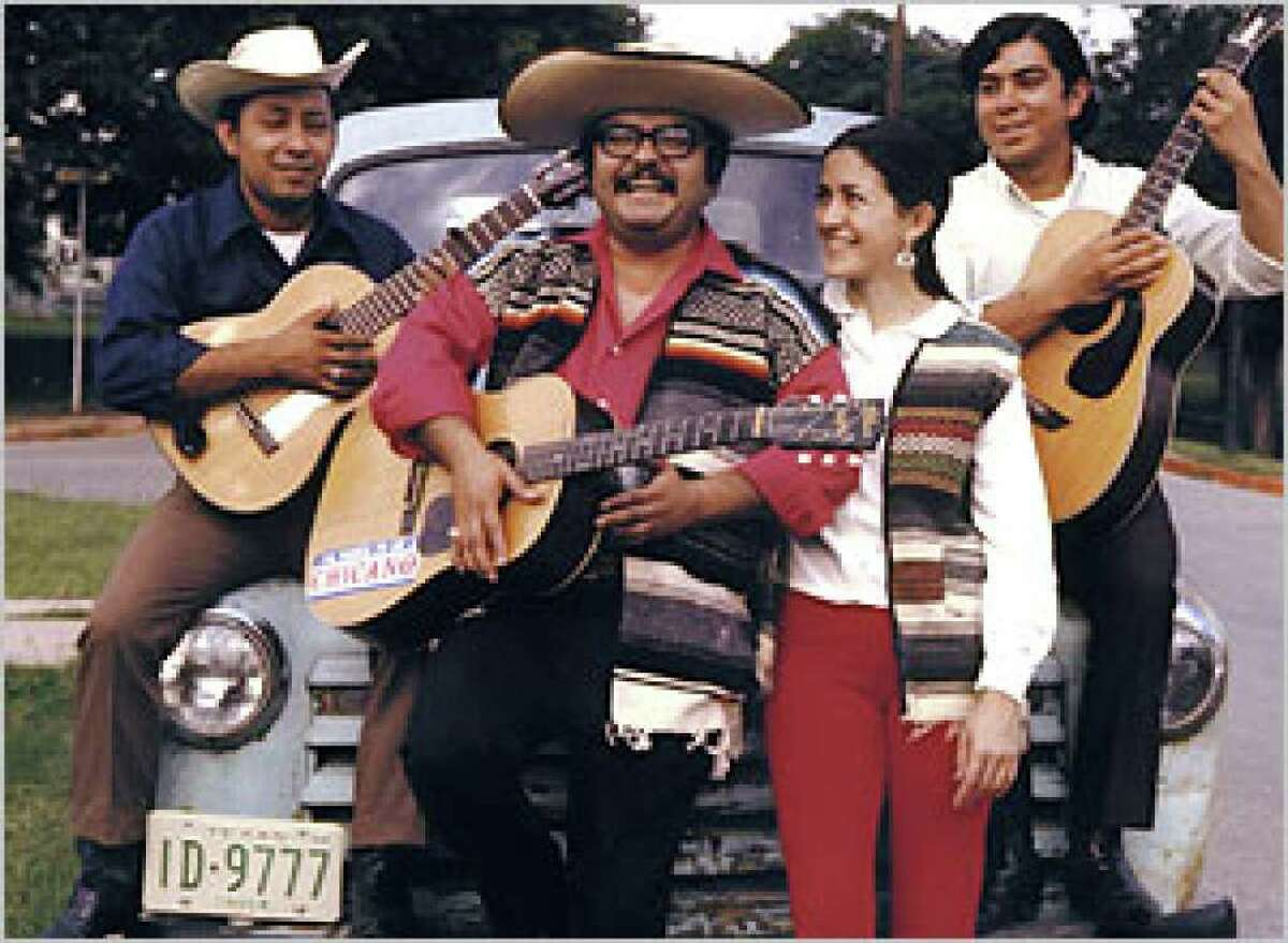 """Arhoolie Records is releasing a collection of 13 songs by the late Rumel Fuentes, """"Corridos of the Chicano Movement."""""""