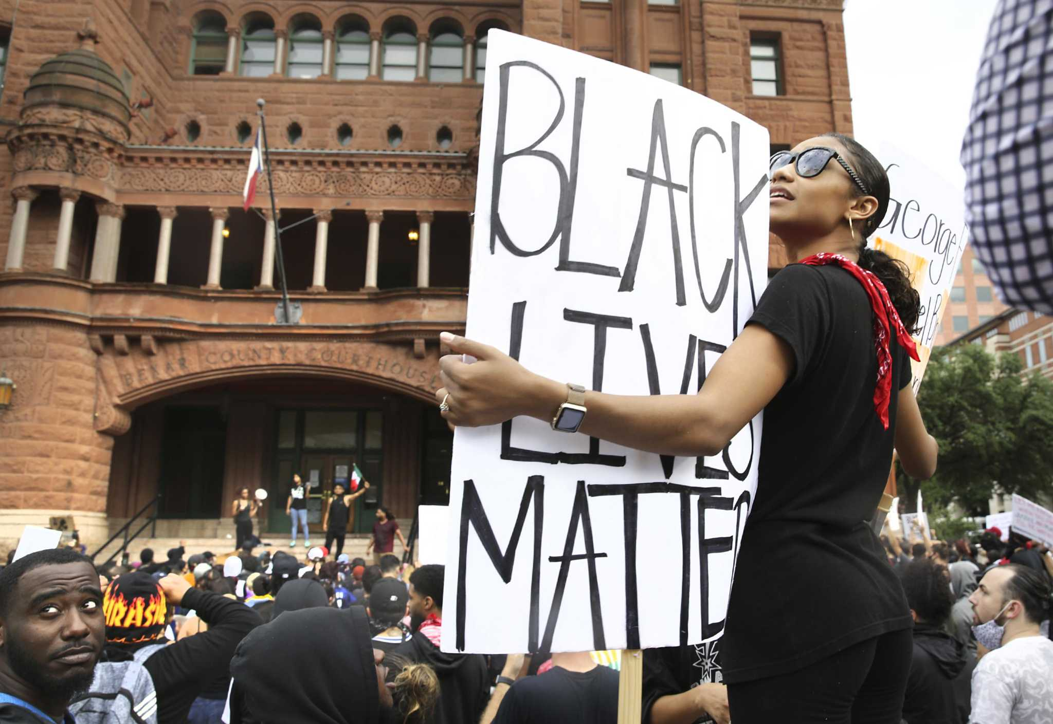 San Antonio's fourth day of George Floyd protests ends in violence