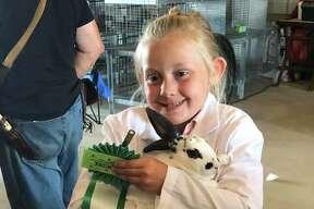 Emma Bartlett rabbits, Back Roads County Kids.