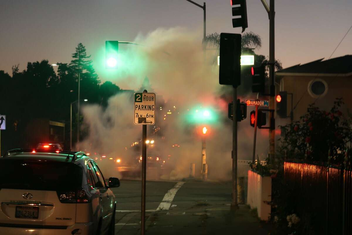 Unrest in Vallejo on Tuesday, June 2, 2020.