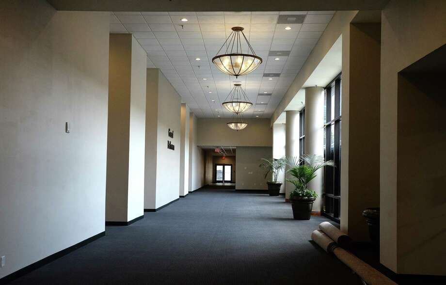 The hallway leading to banquet rooms in a hotel. Photo: File Photo / BEN