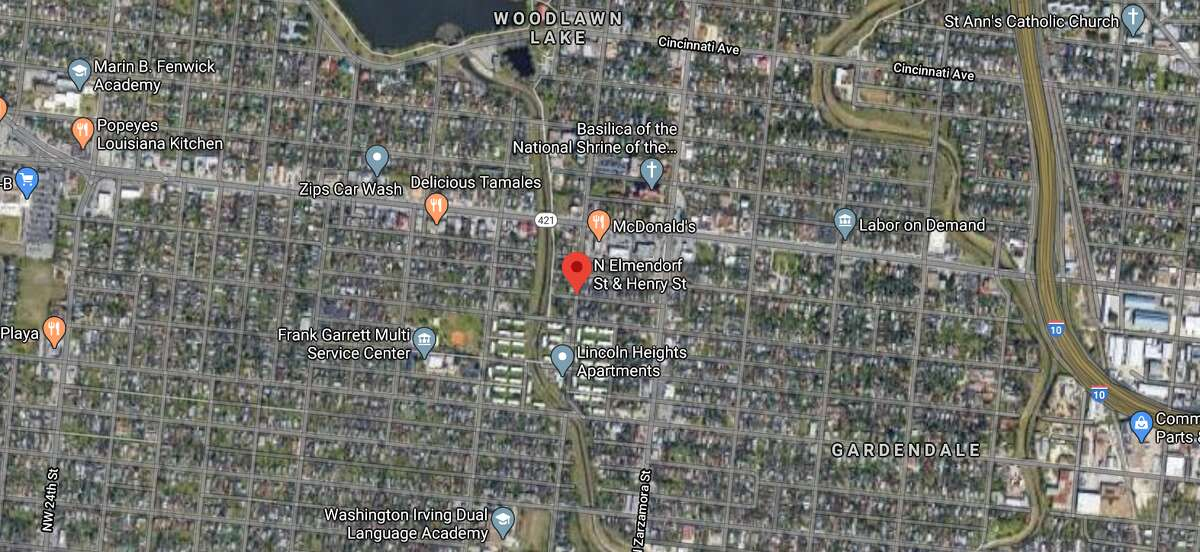 San Antonio police are investigating after a man was found dead on the Northwest Side on Wednesday. The map shows the approximate location of the incident.