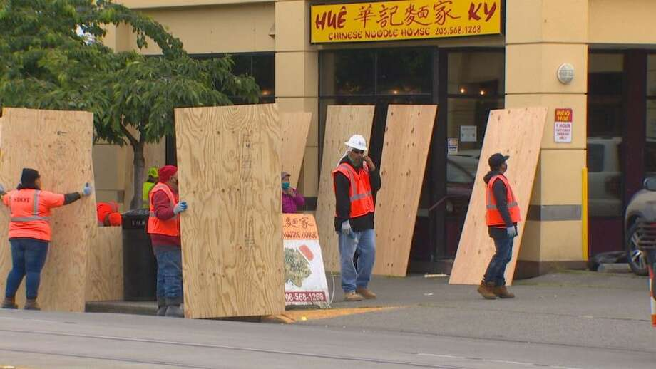 Chinatown-International District businesses recovering after vandalism, looting Photo: Courtesy Of KOMO News