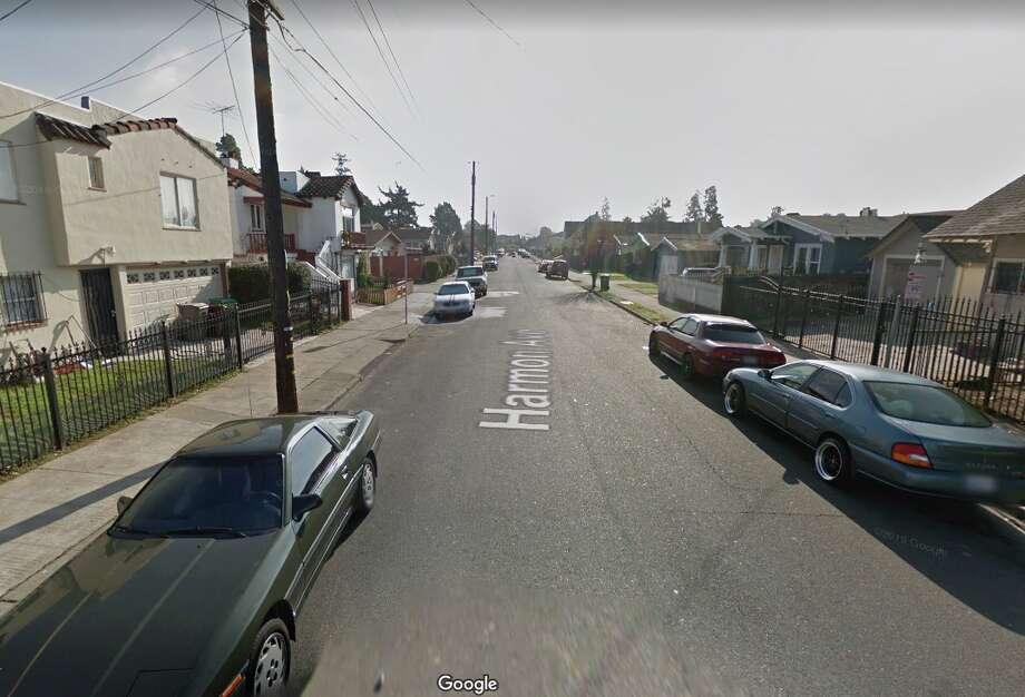 The 5700 block of Harmon Avenue in Oakland. Photo: Google Street View