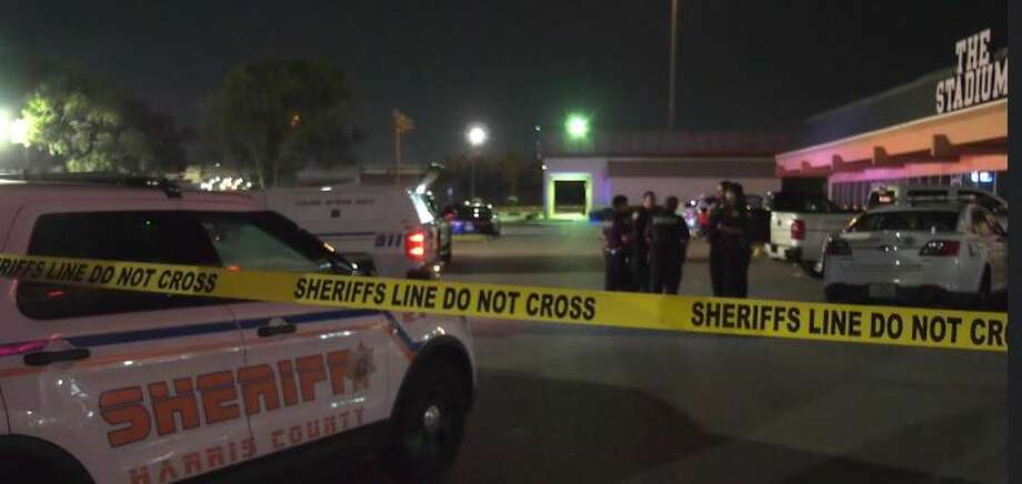 One person is dead following an overnight shootout outside a sports bar in Spring. Photo: OnScene TV
