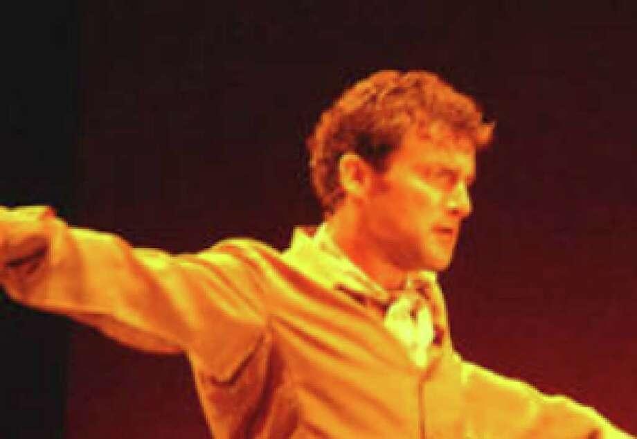 "Flamenco dancer Antonio Granjero starred in ""Flamenco for 4 Seasons."""