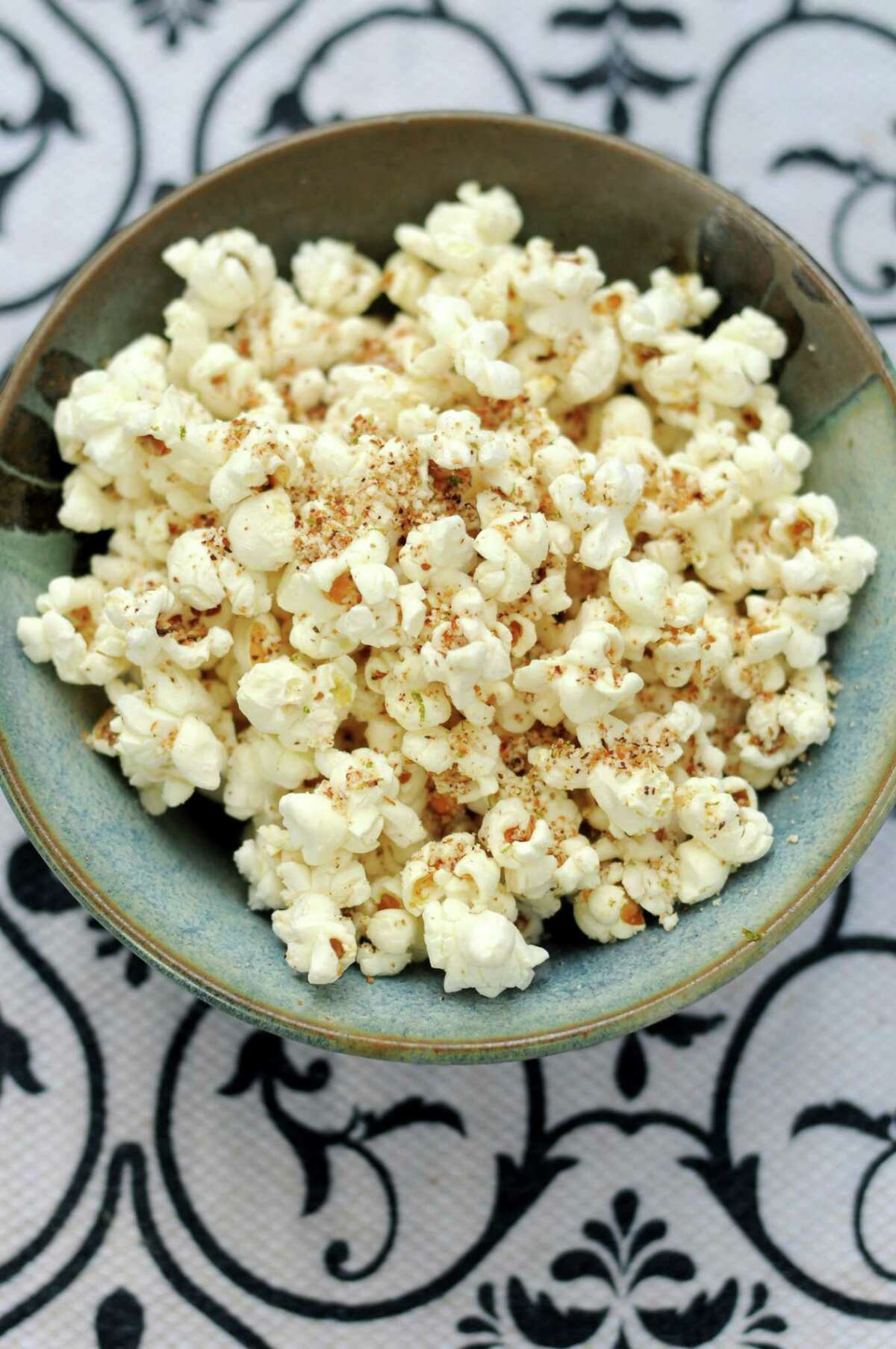 Cotija Cheese and Chile Popcorn