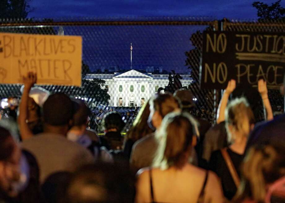 Photos: How protests have engulfed America since George Floyd's death Stacker utilized the Getty Images database from the past week to compile this gallery and timeline of America's protests against police brutality following George Floyd's death. Scroll down. Photo: Anadolu Agency // Getty Images