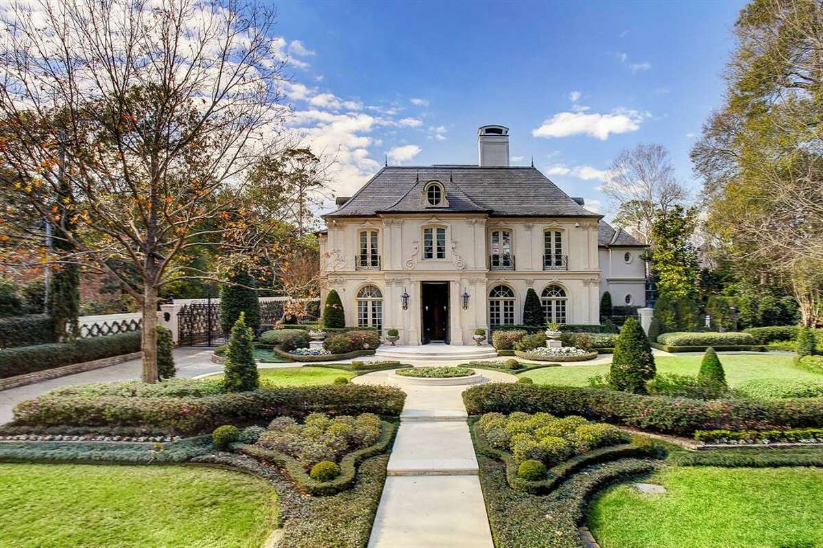 Its French Chateau-style was dreamed up by Robert Dame Designs.
