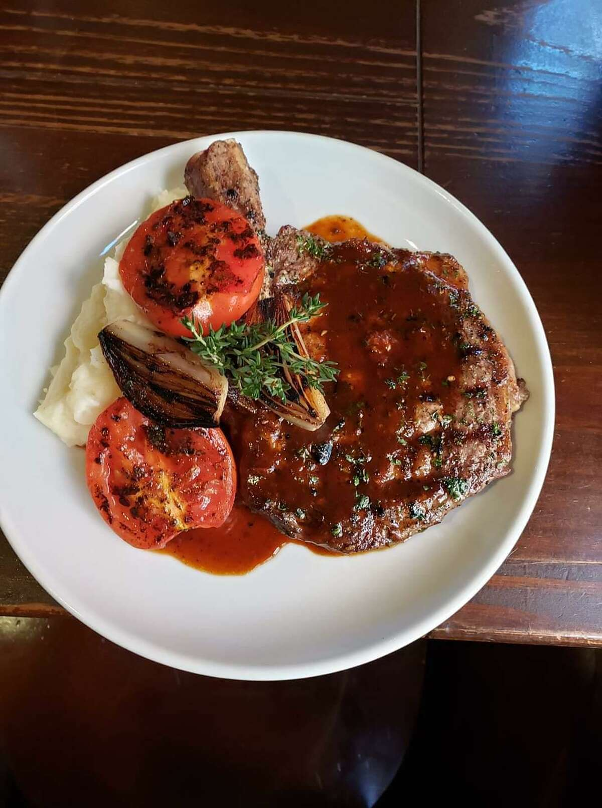 Boiler House Texas Grill & Wine Garden: 312 Pearl Parkway, Building 3, 210-354-4644, boilerhousesa.com . Will offer a $58 brunch special of grilled 18-ounce, cowboy cut rib-eye steak; three eggs and hickory bacon. The $58 dinner special will feature a grilled 18-ounce cowboy cut rib-eye steak, garlic mashed potatoes and charred vegetables. Curbside pick-up and indoor dining.