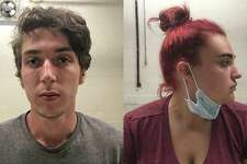 Charles Brockett, left, and Shyann Ranslow, right, were arrested May 29, 2020, for their alleged involvement in an armed robbery and assault at a Brookfield hotel in December 2019.