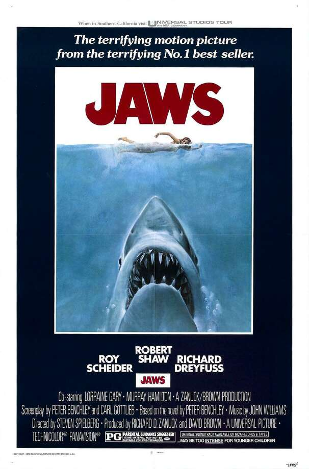 """""""Jaws"""" a magnificent summer frightener that only gets better with age. Photo: Courtesy Photo"""