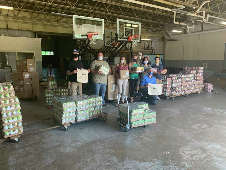 The Manistee Area Chamber of Commerce Leadership Program's Big Day of Serving drive through food pantry will be held from 9-11 a.m. on Saturday at the Armory Youth Project. (Courtesy photo/Manistee Area Chamber of Commerce)