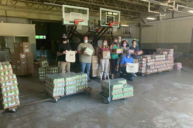 The Manistee Area Chamber of Commerce Leadership Program's Big Day of Servingdrive through food pantry will be held from9-11 a.m. on Saturday at the Armory Youth Project.(Courtesy photo/Manistee Area Chamber of Commerce)