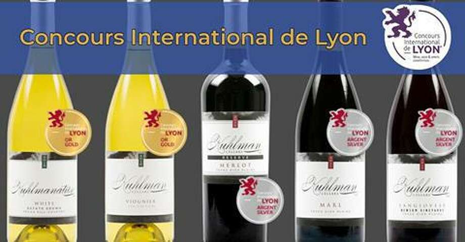 Kuhlman Cellars in the Texas Hill County won five medals in theConcours International de Lyon competition. Photo: Courtesy Photo