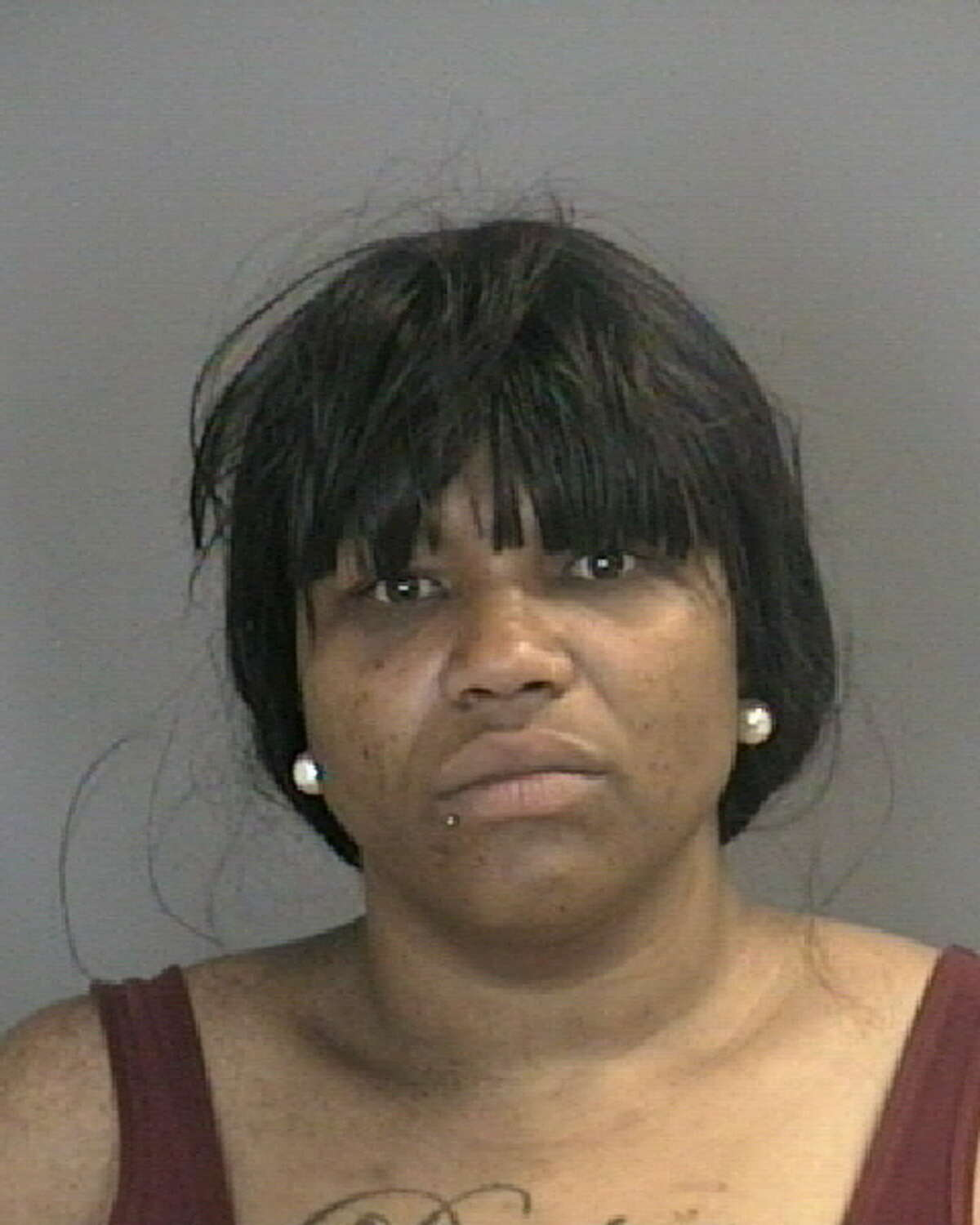 Destiny S. Pettaway was charged with assault in the stabbing and slashing of her boyfriend on Central Avenue June 3, 2020.