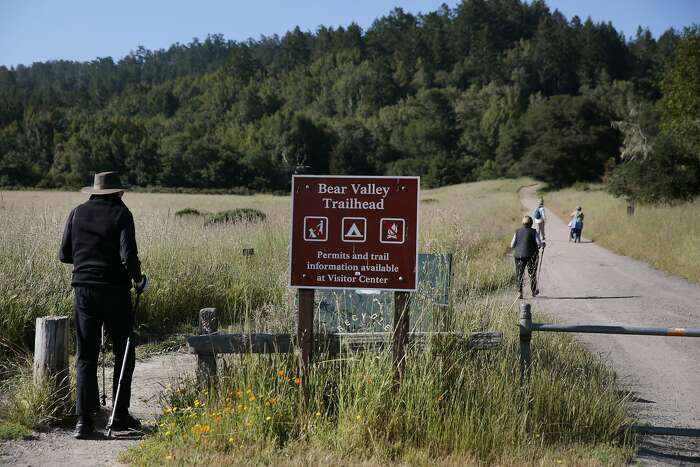 The Bear Valley trailhead in the Point Reyes National Seashore, California, Wednesday, June 3, 2020. Ramin Rahimian/Special to The Chronicle