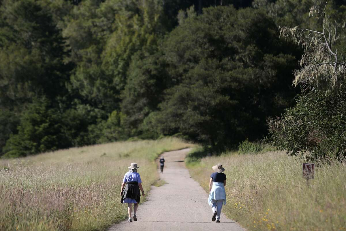 The Bear Valley trail in the Point Reyes National Seashore, California, Wednesday, June 3, 2020. Ramin Rahimian/Special to The Chronicle