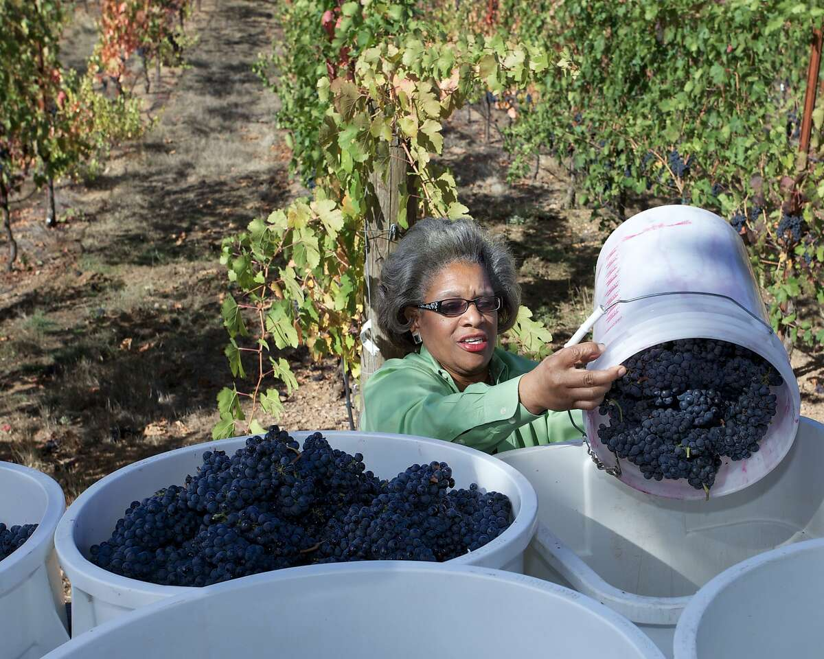 Theodora Lee is the winemaker and owner of Theopolis Vineyards in Mendocino County.