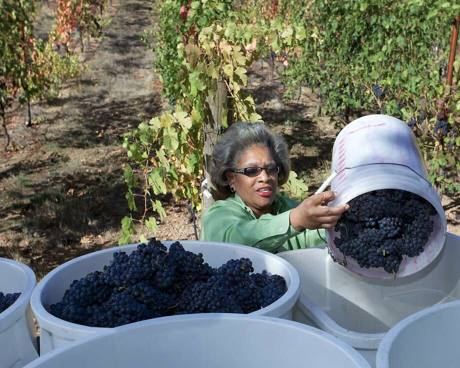 Theodora Lee is the winemaker and owner of Theopolis Vineyards in Mendocino County. Photo: Tim Sanchez Photography