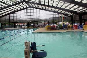 The pool is one of the limited options available at the Lake Houston YMCA.