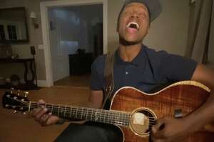 Javier Colon will perform in a benefit for Beardsley Zoo and Hall Neighborhood House, both of Bridgeport, June 18. The two-hour concert will be on Facebook Live. Colon is seen here performing in his Quarantine Concert Series.