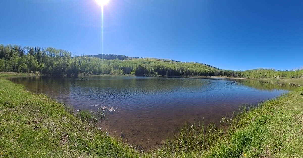 Buckles Lake, one of the many great fishing spots near Pagosa Springs, Colo.