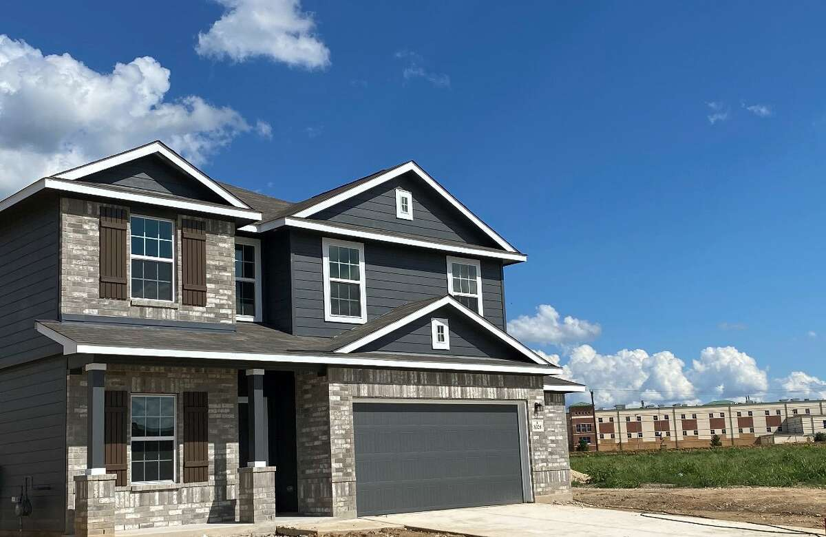 CastleRock Communities, a Houston-based builder and land developer, builds homes in Houston, San Antonio, Austin and Dallas. A home in San Antonio's Kallison Ranch community is shown.