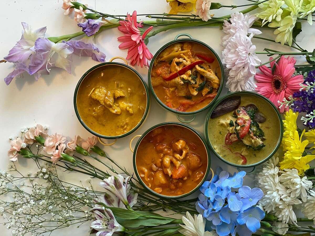 San Francisco's Le Moon Thai Eatery serves a variety of Thai curries.