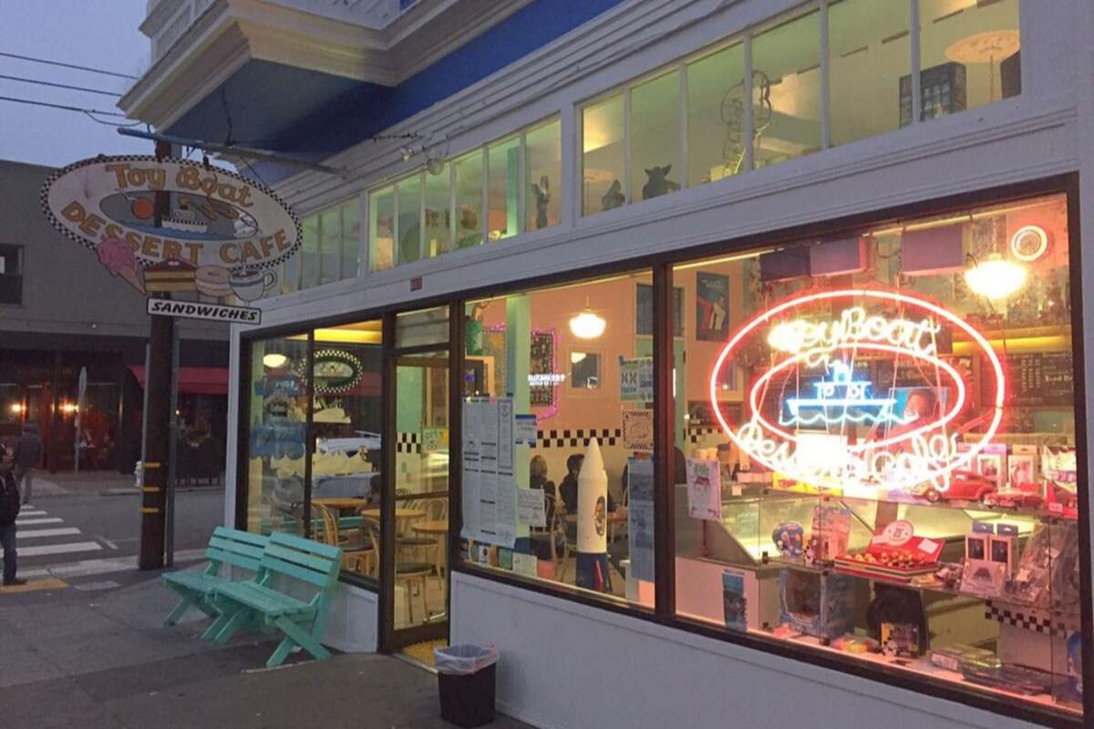Owners of the Toy Boat Dessert Café, at 401 Clement St., have announced that they are selling the business.
