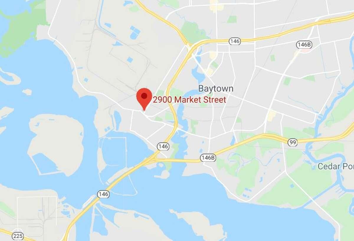 2900 block of Market in Baytown.